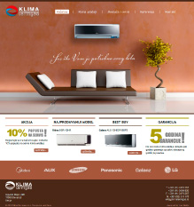 KLIMA Termgas Website